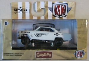 m2 machines gassers complete set of 6 in sleeve.r51 NEW