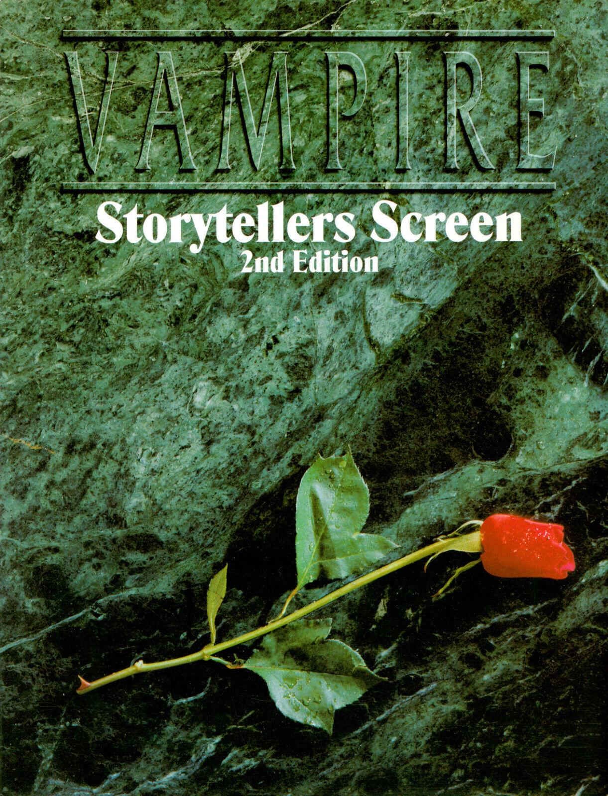 VAMPIRO I Narratori Schermo seconda edizione con  supplemento  molte sorprese