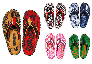 Selbstlos Coole Beachers Sandalen Gr. 35-46 Zehentrenner Strand Sommer Schuhe Schlappen