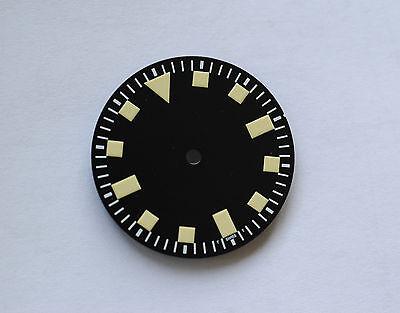 Plain Yellow Snowflake Snow Flake Watch Dial Miyota 8200 DG 2813 Superluminova
