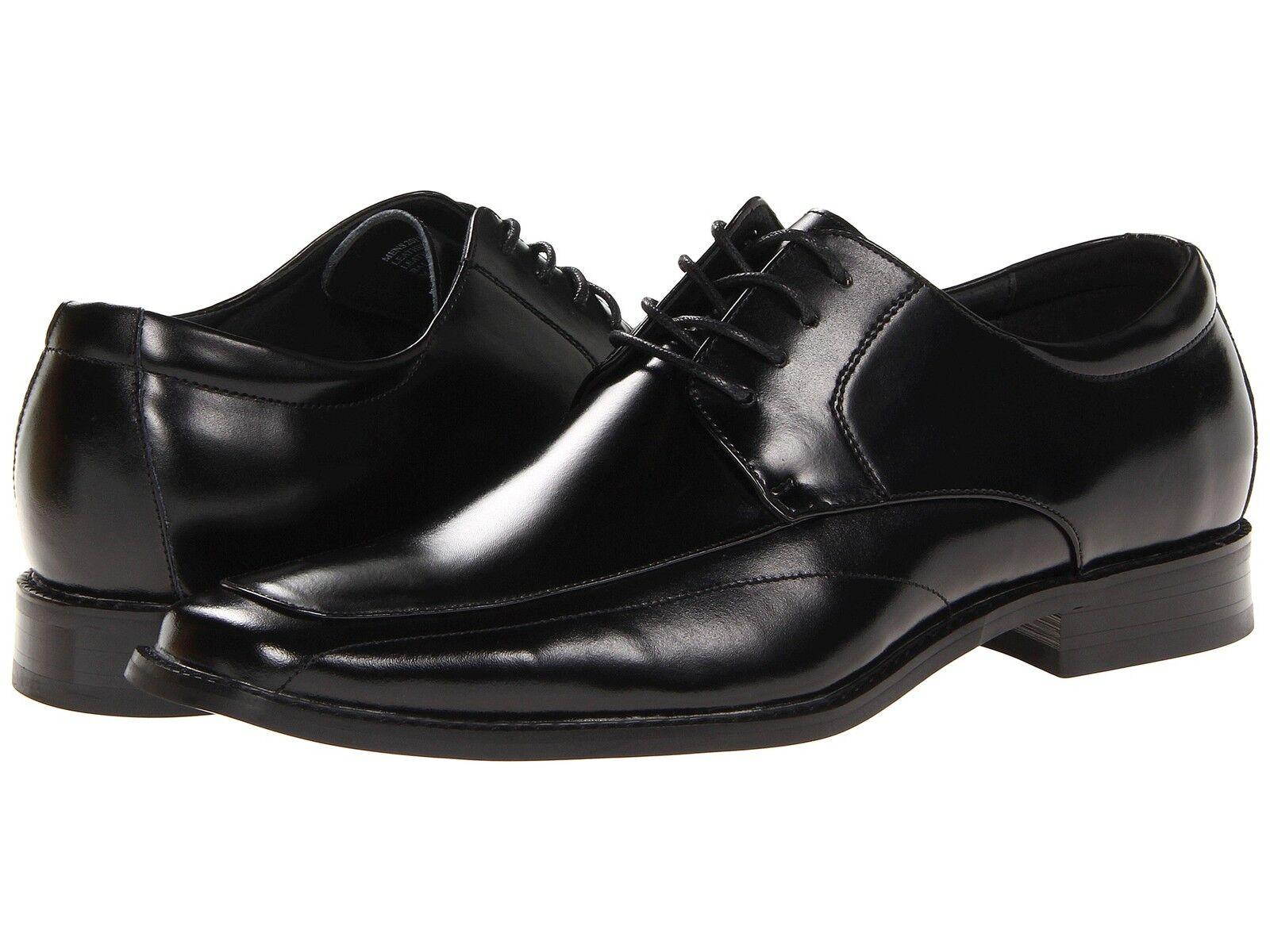 Zapatos Zapatos Zapatos de Cuero Stacy Adams Para hombre Drake Encaje-Ups Negro 20130-001 a3f52b