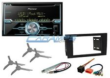 NEW PIONEER DOUBLE 2 DIN CAR STEREO RADIO CD PLAYER W INSTALL KIT FOR 02-05 A4