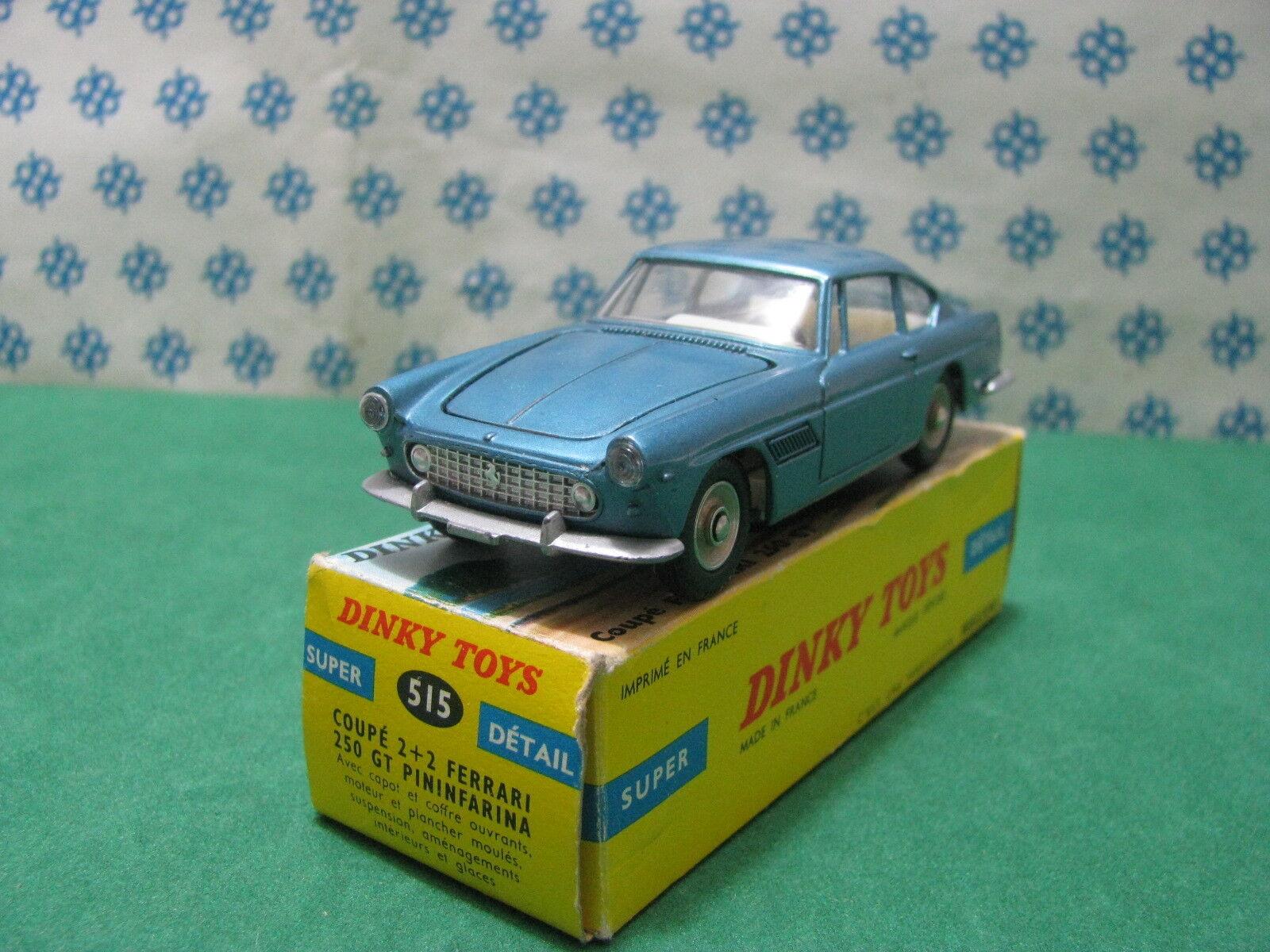 Vintage - Dinky Toys 515 - Ferrari 250 2+2 Gt Pininfarina Coupé - Mint Boîte