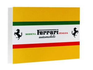 Ferrari Modena Italia Metal Sign