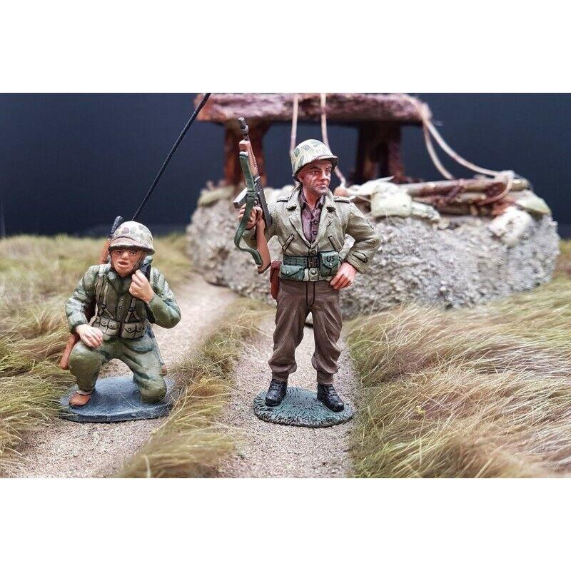 re & COUNTRY2 US US Marines, Radio e Sergente, Al Combat, Iwo Jima 1