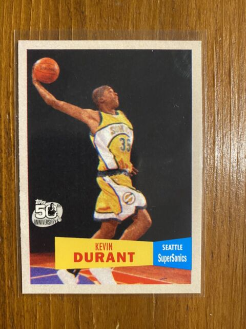 2007 Topps kevin durant Rookie 1957-58 Retro Version NM $$$