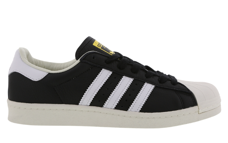 ADIDAS SUPERSTAR BOOST BLACK WHITE gold BB0189 MEN TRAINERS VARIOUS SIZES