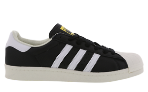 fe3adda0 Details about ADIDAS SUPERSTAR BOOST BLACK/WHITE/GOLD BB0189 MEN TRAINERS  VARIOUS SIZES