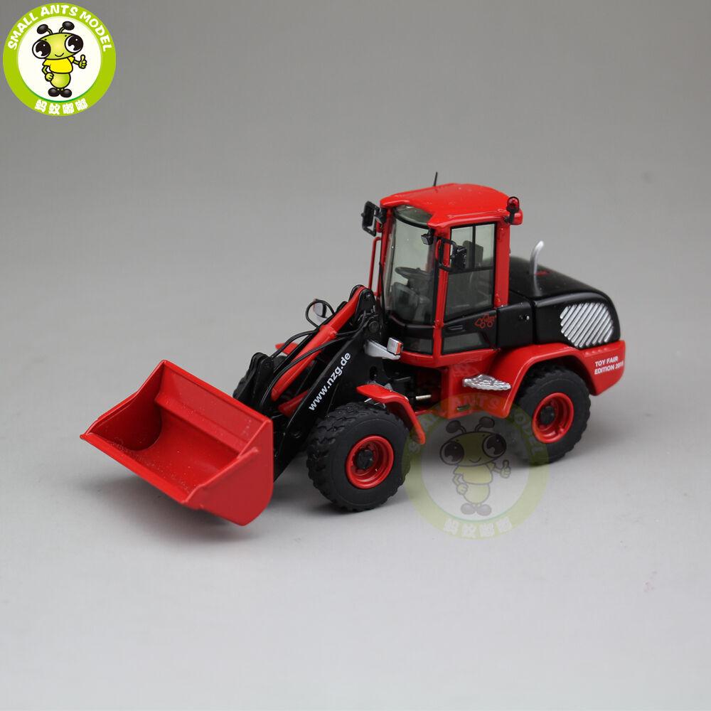 1 50 NZG Terex TL120 Coche Modelo Diecast Cargador de rueda Radlader