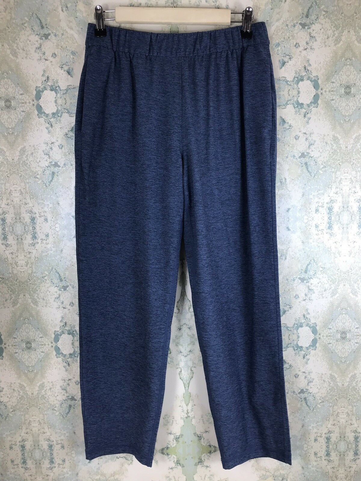 Outdoor Voices bluee Running Casual Gym Crop Sweatpants Pants Small