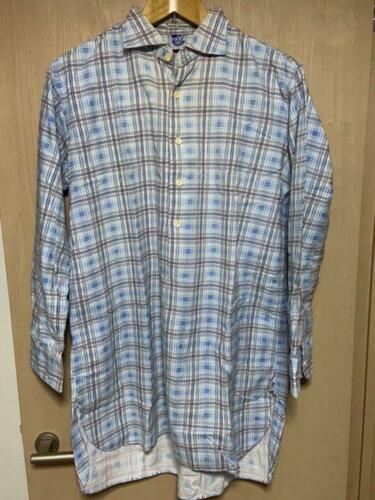 Mister Freedom Vintage Check Plaid Pattern Big Sil