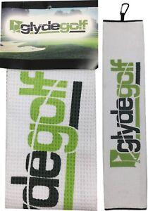 Glyde-Golf-Tri-Fold-Golf-Towel-Micro-Fibre-Waffle-Weave-40cm-X-60cm