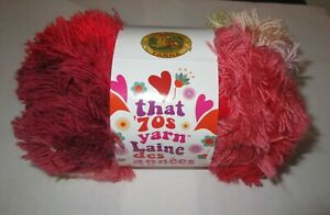 6-Super Bulky LION BRAND~RIGHT ON That 70/'s Yarn