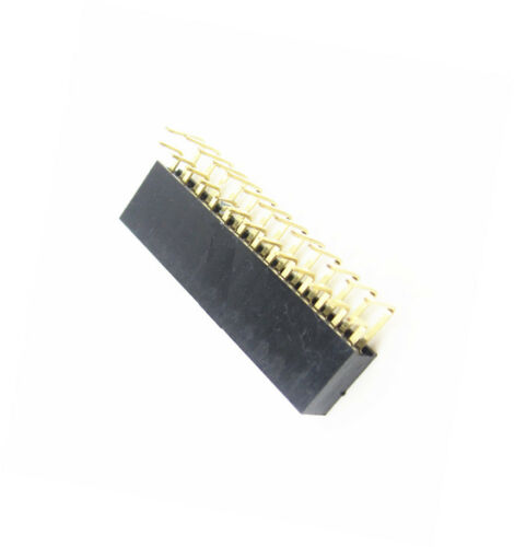 10PCS 2.54 mm pitch 2x13Pin Header Right Angle Femelle Double Rangée Socket Connecteur