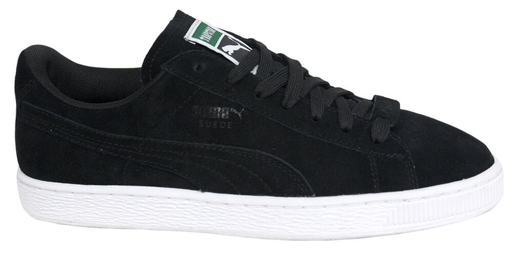 Puma Suede x Trapstar Black Lo Lace Up Trainers Mens 361500 01 U46 The latest discount shoes for men and women