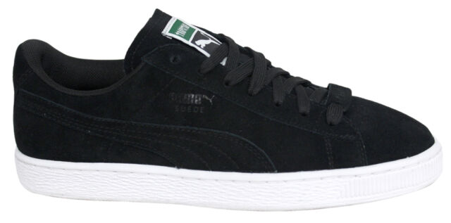 new style 58c9c 43690 Puma Suede x Trapstar Black Lo Lace Up Trainers Mens 361500 01 B28D