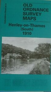 OLD-ORDNANCE-SURVEY-MAPS-HENLEY-on-THAMES-S-OXFORDSHIRE-1910-Godfrey-Edition