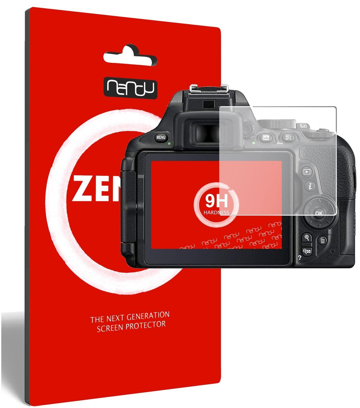 2x ZenGlass Flexible Glass Film for Nikon D5600 I Screen Protector 9H Hardness