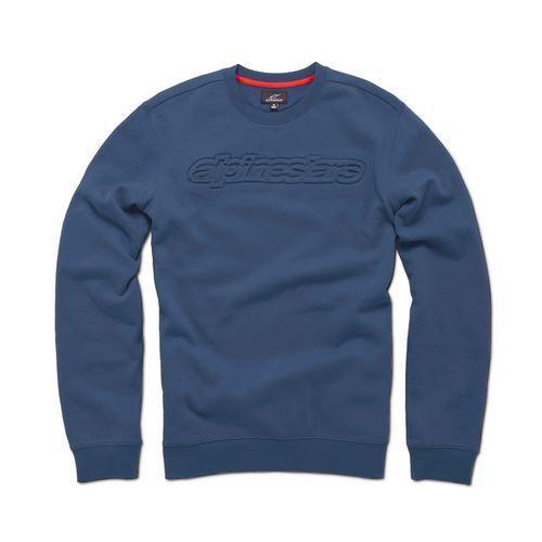 Alpinestars Recognize Fleece Crew (M) Marineblau