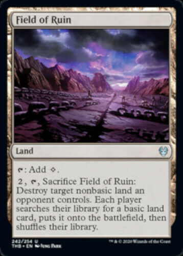NEW 2x Field of Ruin MTG Theros Beyond Death
