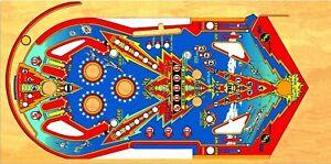 Bally Six Million Dollar Man Pinball Machine Playfield ...