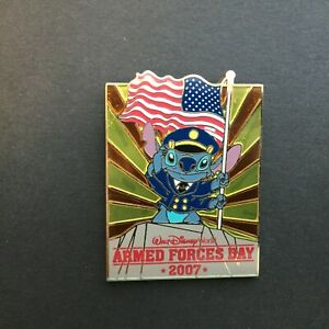WDW-Armed-Forces-Day-2007-Stitch-Limited-Edition-2000-Disney-Pin-54126