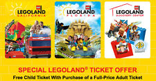 Legoland KIDS Go Free /w Adult California or Florida Good 6/30/2017  ONLINE