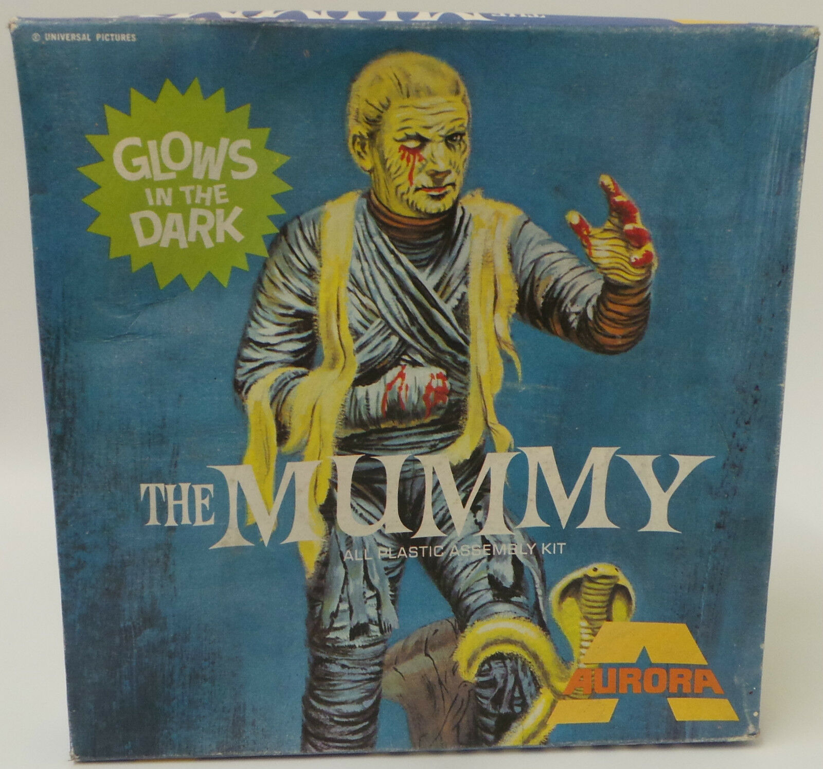HORROR   THE MUMMY MODEL KIT MADE MADE BY AURORA CIRCA 1970'S - VERY RARE KIT