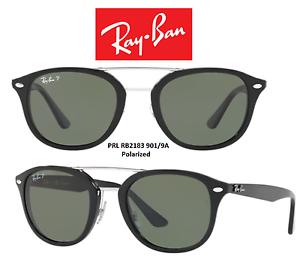 b4659e2118 Image is loading Ray-Ban-Sunglasses-RB2183-901-9A-Highstreet-Polarized-
