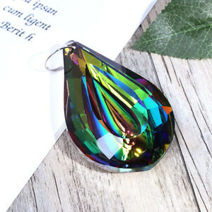 Rainbow-Crystal-Suncatcher-Chandelier-Lamp-Prism-Hanging-Pendant-Home-Decor-76mm