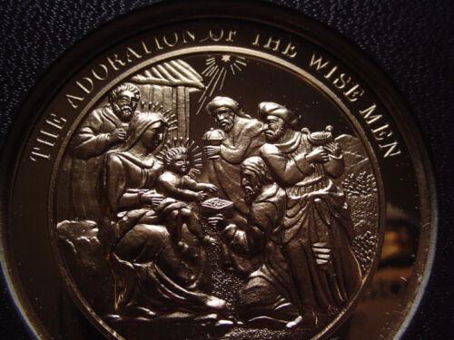 THE ADORATION OF THE THREE WISE MEN Rubens. Thomason Medallic Bible 53