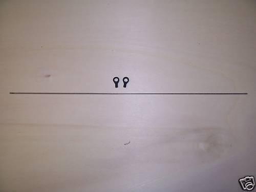 Kugelpfannen T Rex 450 V2//V3//Sport Clone Heckrotoranlenkgestänge m