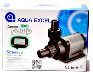 Pet Supplies Pumps (water) Obedient Aqua Excel Dc Pumps From 792 Gph To 2641 Gph *skimmer Pump* Good Reputation Over The World