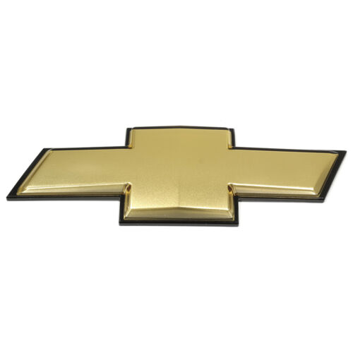 OEM NEW Front Bumper Grille Bow Tie Emblem Gold 07-11 Chevrolet Aveo 96648780