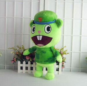 Animation Characters Happy Tree Friends Soldier Flippy Plush