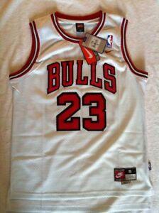 Así llamado magia dolor de muelas  Canotta NBA Basket Camiseta Michael Jordan Retro Jersey Chicago Bulls S/M/L  / | eBay