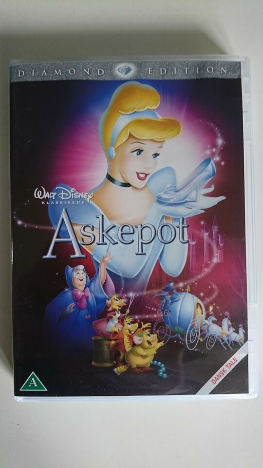 Askepot / Cinderella (Diamond Edition), DVD, tegnefilm