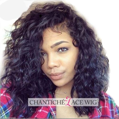 Curly Wig Human Hair Glueless Full Lace Wigs Black Women 6A Brazilian Lace Front