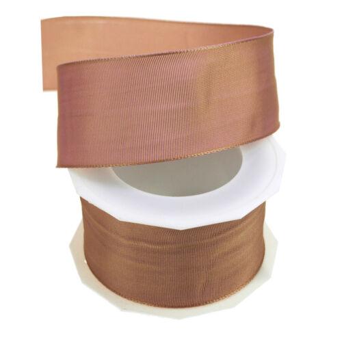 10 Yards Made in Germany Lyon Taffeta Wired Edge Ribbon 1-1//2-Inch