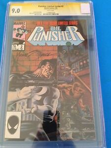 Punisher-Limited-Series-2-Marvel-CGC-SS-9-0-Signed-by-Mike-Zeck