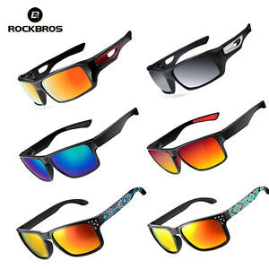 ROCKBROS-Polarized-Bicycle-Bike-Cycling-Sunglasses-Goggles-Eyewear-Glasses-UV
