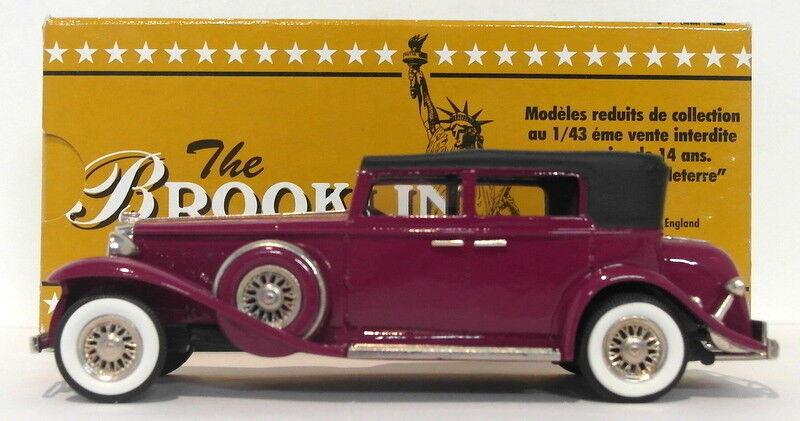 Brooklin maßstab 1  43 brk96 - 1931 marmon 16 4dr cabrio - limousine lila