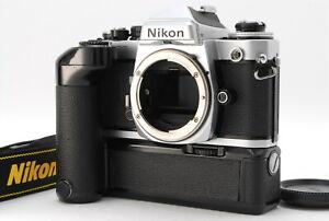 034-Near-Mint-034-Nikon-FE2-Silver-35mm-SLR-Film-Camera-Body-W-MD-12-From-Japan-E095