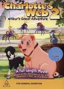 Charlotte-039-s-Web-2-Wilbur-039-s-Great-Adventure-DVD-2003-Amanda-Bynes