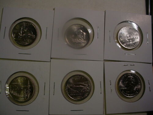 1999-2009 All 56 P State /& Territory Quarters BU Uncirculated 56 Coins