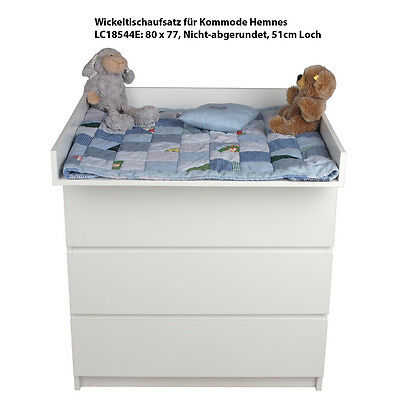 Wickeltischaufsatz XXL-Wickelaufsatz für Ikea Kommode Malm & HEMNES Wickeltisch