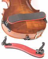 Viva La Musica Red 3/4-4/4 Violin Shoulder Rest -