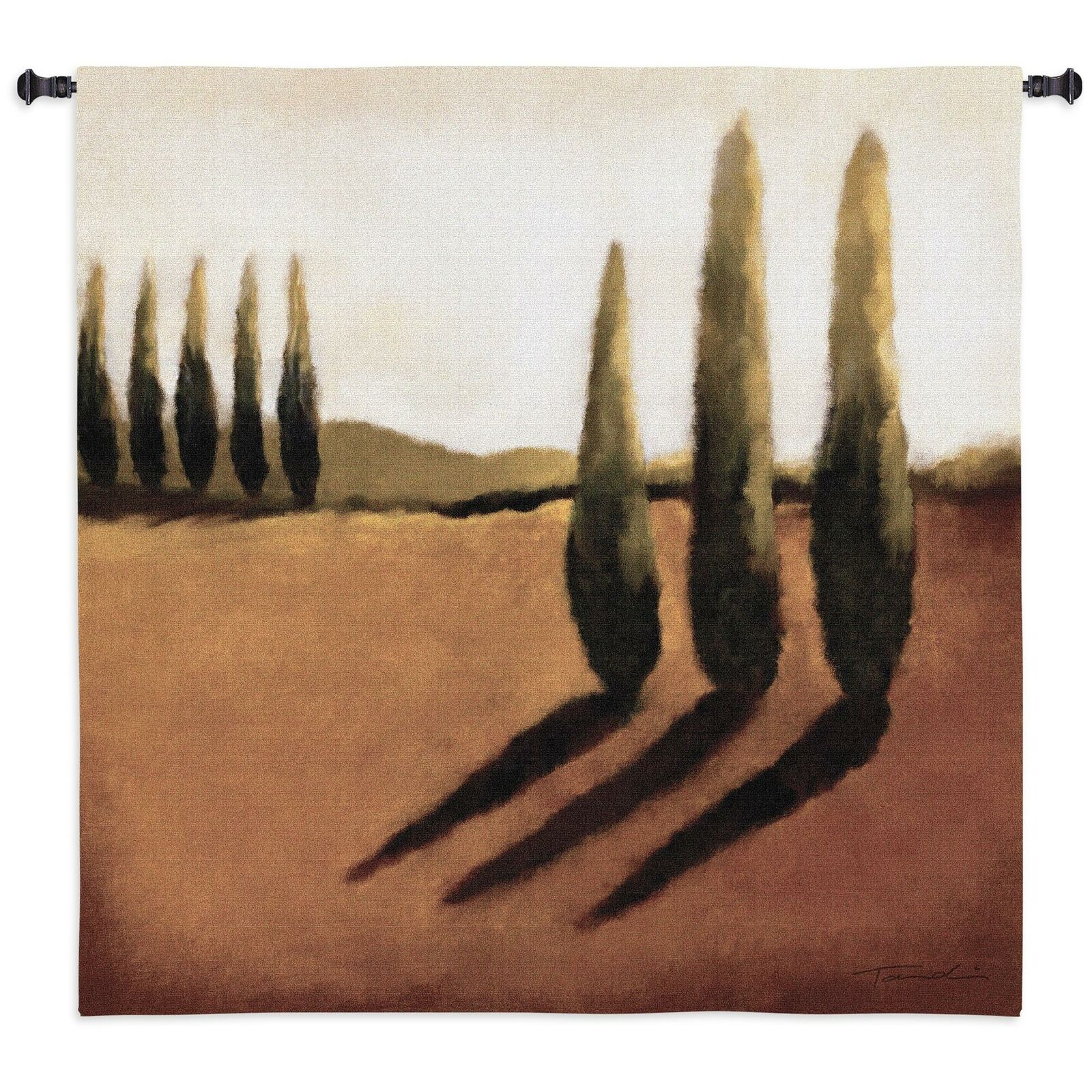 Memories of Tuscany North American Made Woven Tapestry Wall Hanging