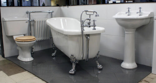 Gems Ryther Slipper Bath Suite Traditional Victorian Bathroom Suite Inc Taps