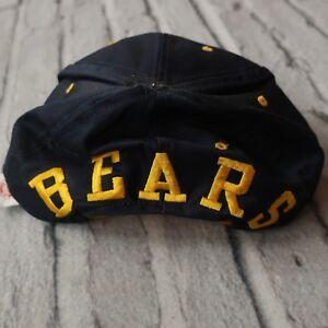 Vintage 90s University of California Berkeley Bears Spellout Snapback Hat Cap UC